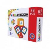 Магнитный конструктор Mag-Wisdom 38 деталей