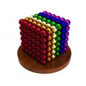 НеоКуб 6 мм (разноцветный 6 цветов), 216 элементов
