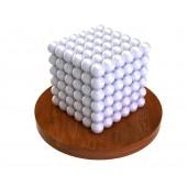 Куб из магнитных шариков 5 мм (белый), 216 элементов