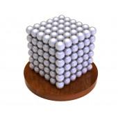 Куб из магнитных шариков 6 мм (жемчужный), 216 элементов