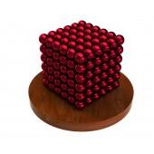 Куб из магнитных шариков 5 мм (красный), 216 элементов
