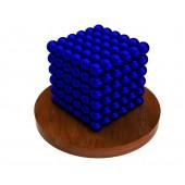 Куб из магнитных шариков 5 мм (синий), 216 элементов
