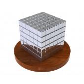 ТетраКуб 5мм (серебряный) 125 элементов
